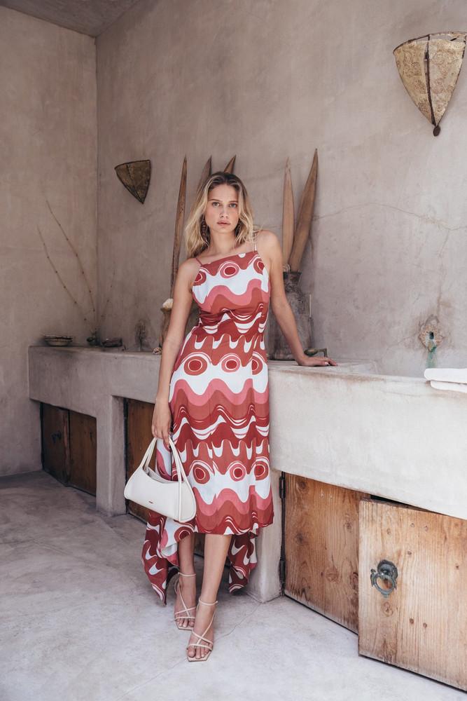 Cult Gaia Tameka Dress - Wave Multi                                                                                               $498.00