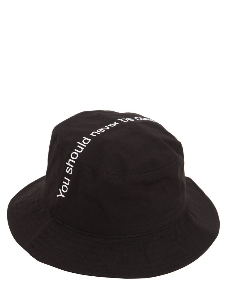 FAMT - FUCK ART MAKE TEES You Should Never Be Comfortable Hat in black