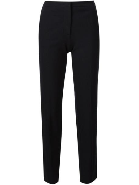Derek Lam Drake Crop Trouser in black