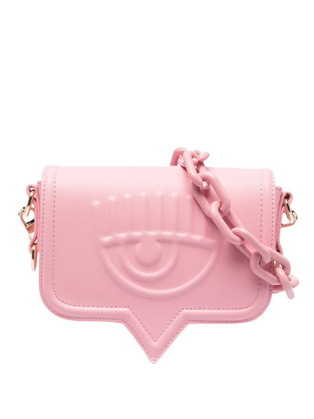 Chiara Ferragni small Eyelike shoulder bag in pink