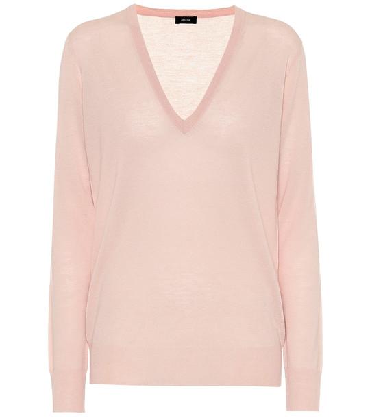 Joseph Cashmere sweater in pink