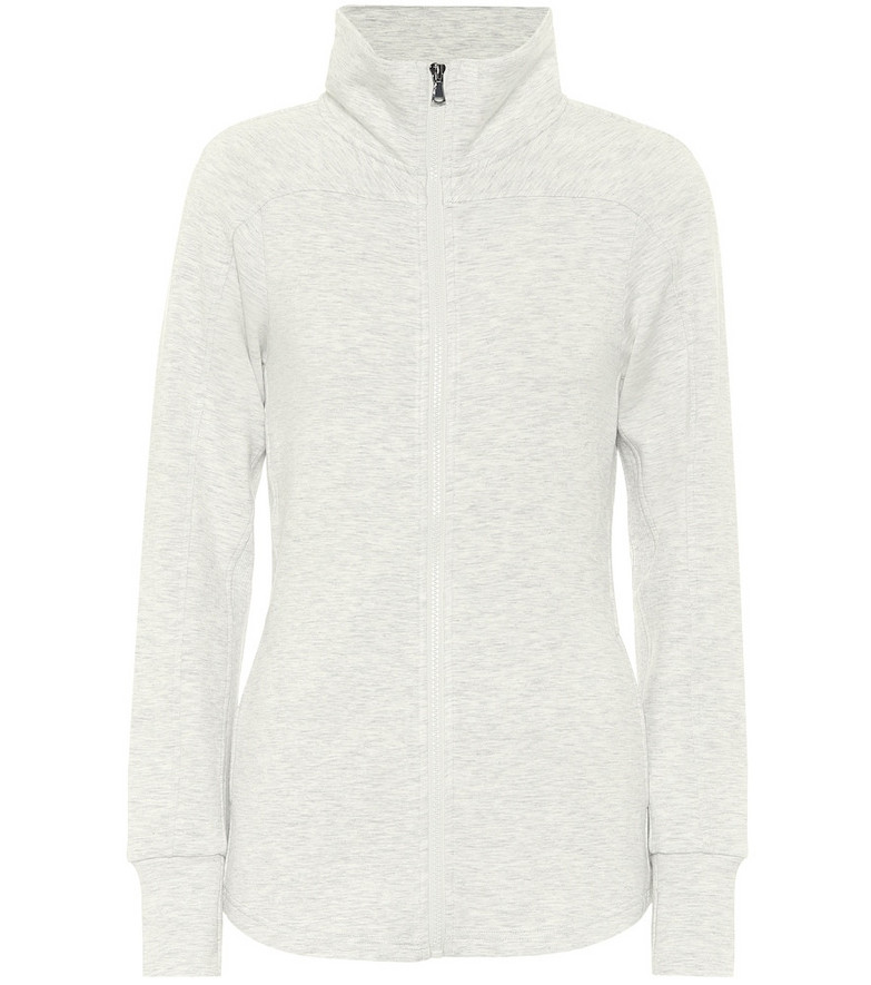 Varley Rossbury stretch-jersey jacket in grey