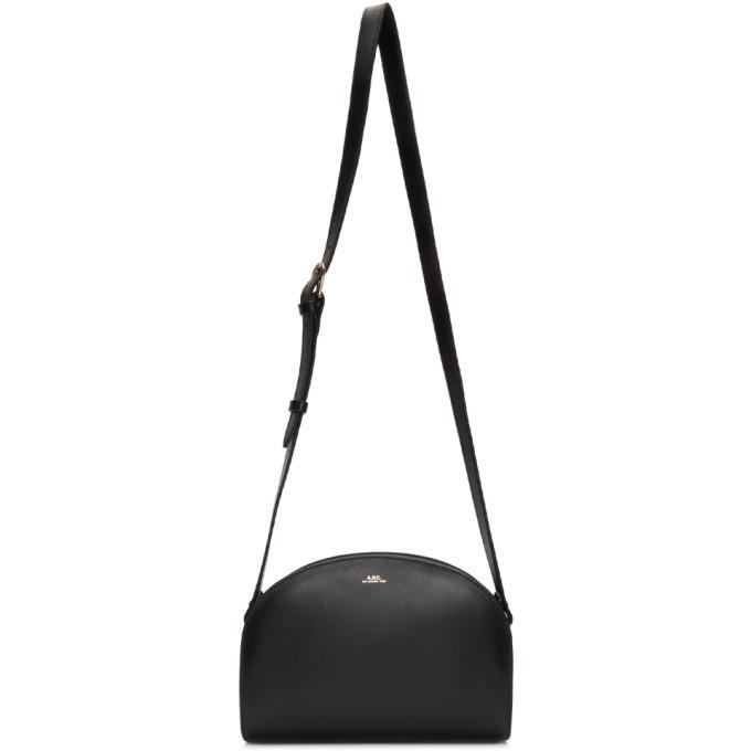 A.P.C. A.P.C. Black Half-Moon Bag