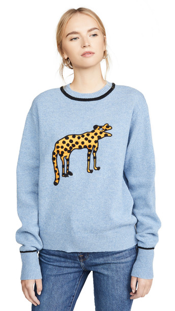 Victoria Victoria Beckham Creature Sweater in blue