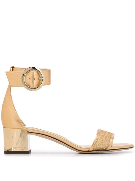 Jimmy Choo Jaimie 40 sandals in gold