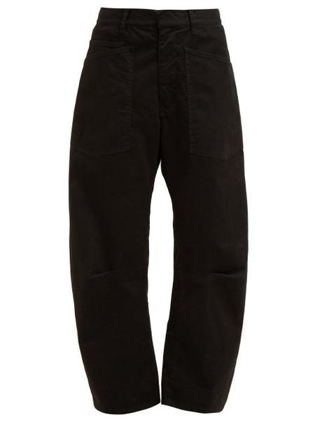 Nili Lotan - Shon Wide Leg Jeans - Womens - Black