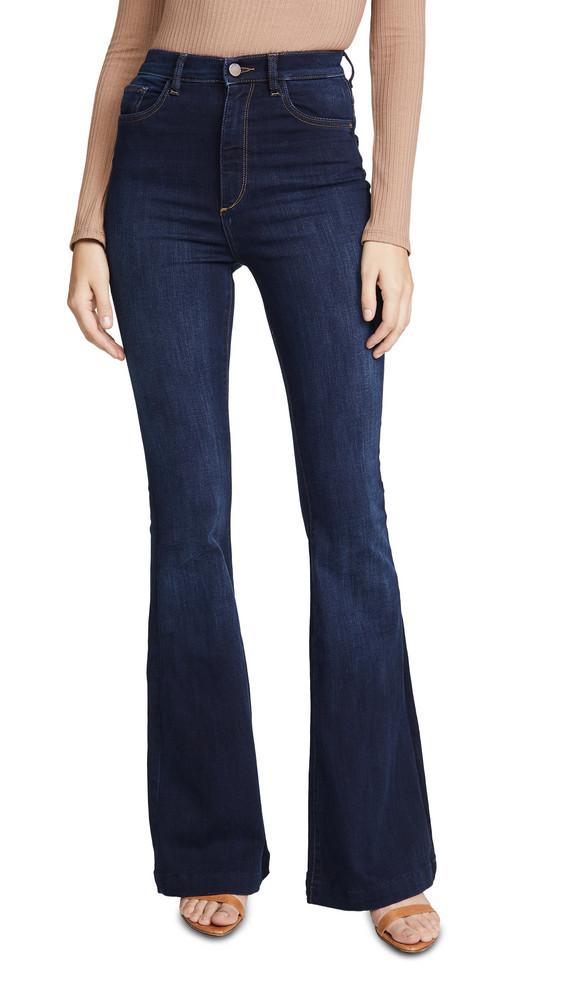 DL DL1961 Rachel High Rise Flare Jeans