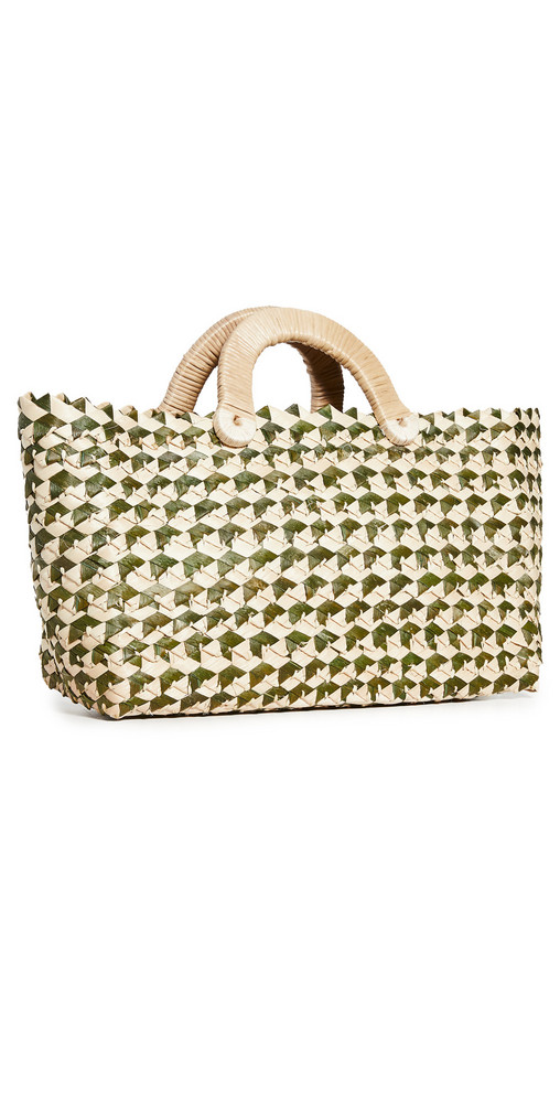 Nannacay Belle Tote in green