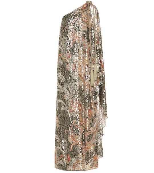 Dundas Silk-blend gown