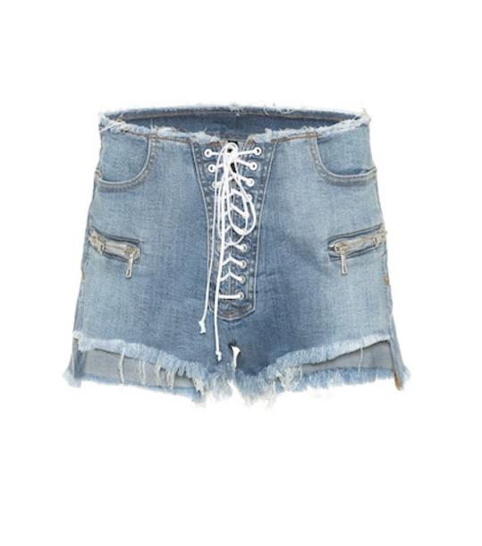 Unravel Denim shorts in blue