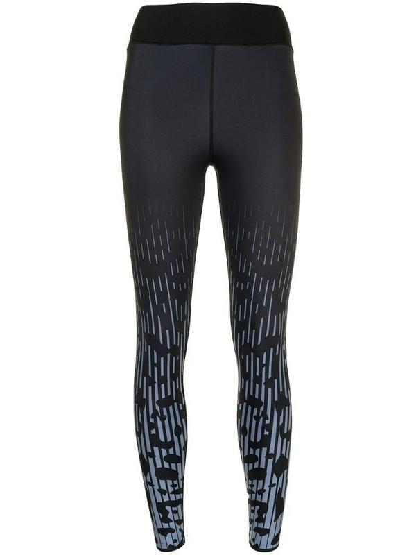 Ultracor Jaguar graphic print leggings in black