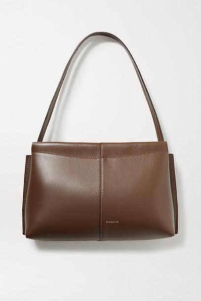 Wandler - Carly Mini Leather Tote - Chocolate