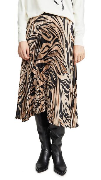 Bailey44 Logan Skirt in camel / multi
