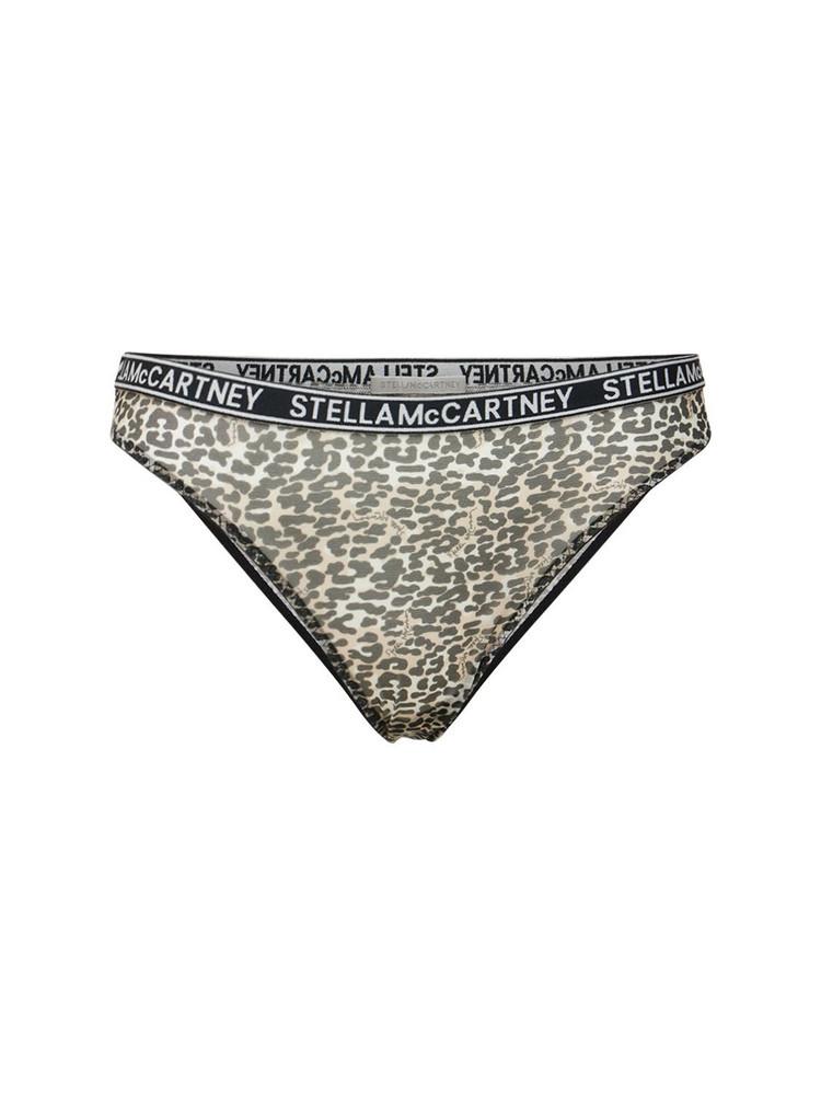 STELLA MCCARTNEY Amelia Beaming Lace Briefs in leopard