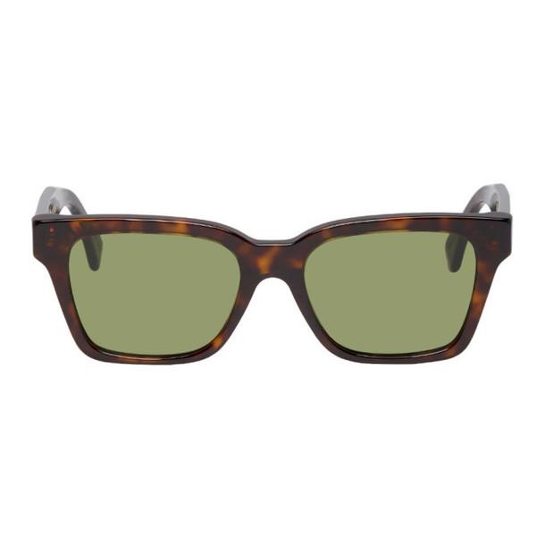 Super Tortoiseshell & Green America Sunglasses
