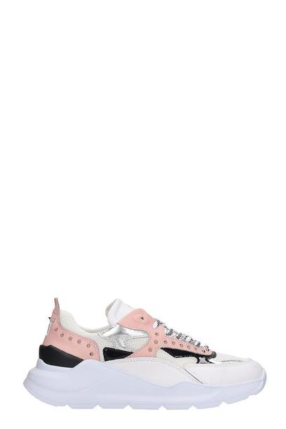 D.A.T.E. D.A.T.E. Fuga Sneakers In White Leather