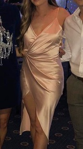 dress,satin