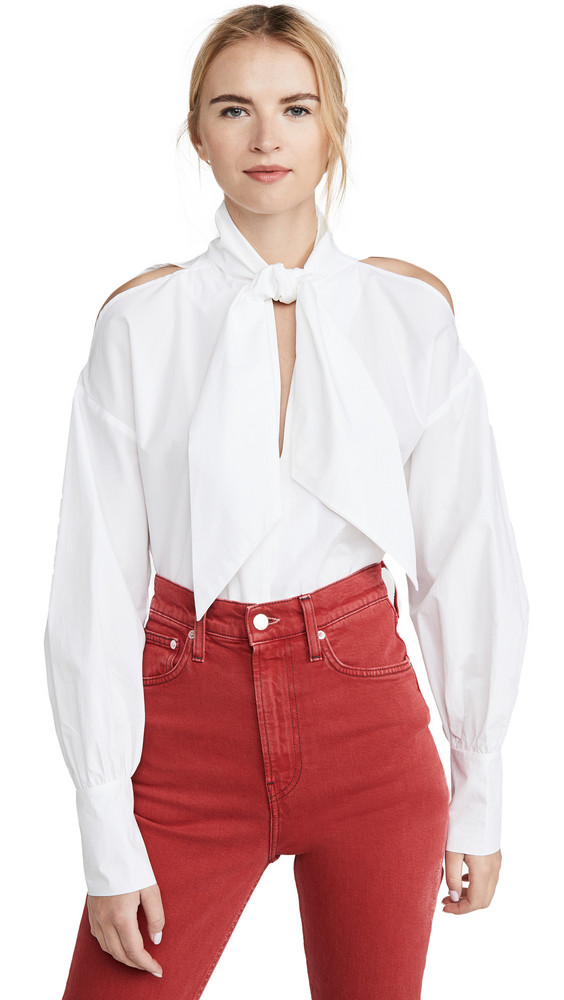 Silvia Tcherassi Gemma Blouse in white