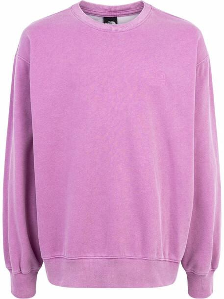 Supreme x The North Face logo crewneck sweatshirt - Pink