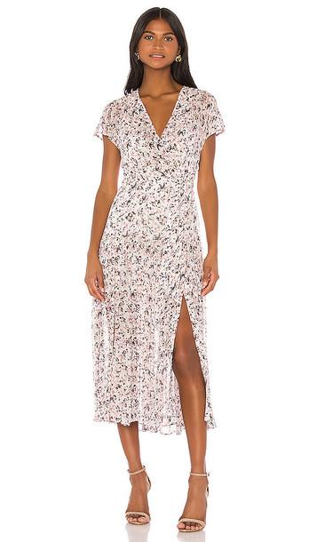 ALLSAINTS Alix Freefall Dress in Blush