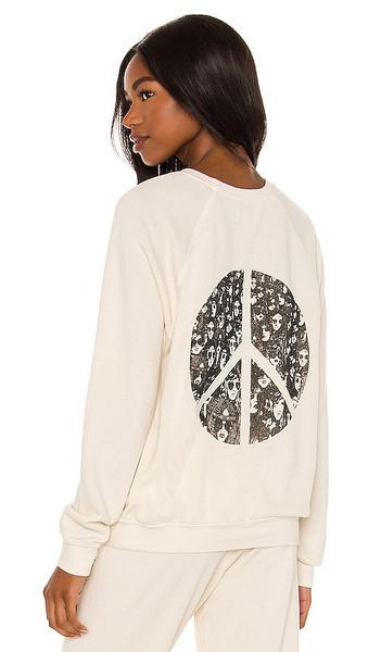 Lauren Moshi Anela Pullover in Cream in ivory