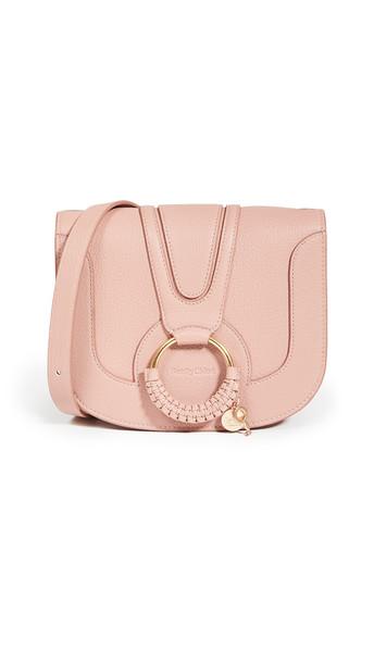 See by Chloe Hana Small Saddle Bag in rose