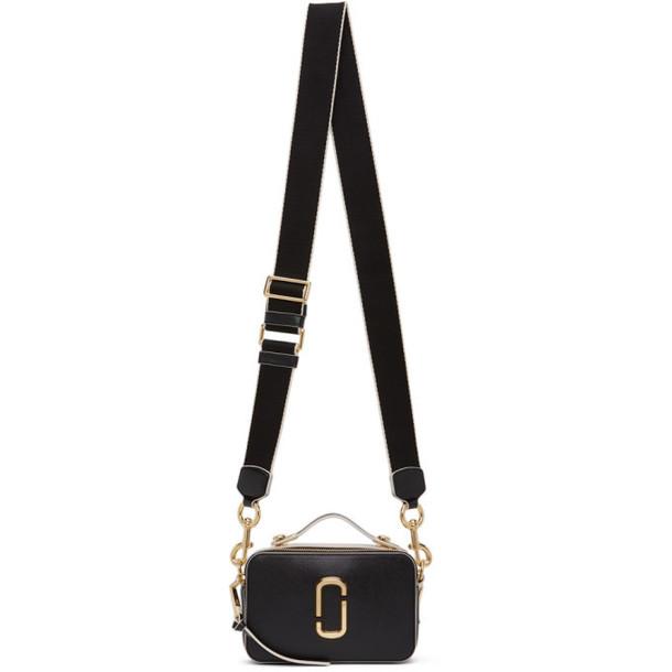Marc Jacobs Black The Sure Shot Shoulder Bag