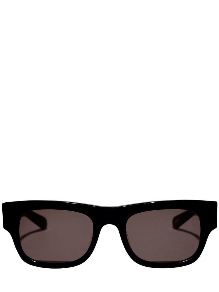 FLATLIST EYEWEAR Flat Acetate Sunglasses in black