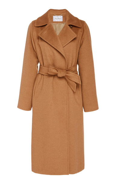 Max Mara Manuela Camel Hair Coat Size: 0 in brown