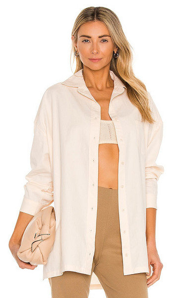 Lovers + Friends Lovers + Friends Audriana Oversized Top in Cream
