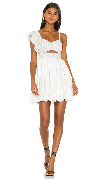 Tularosa Allanis Mini Dress in Ivory