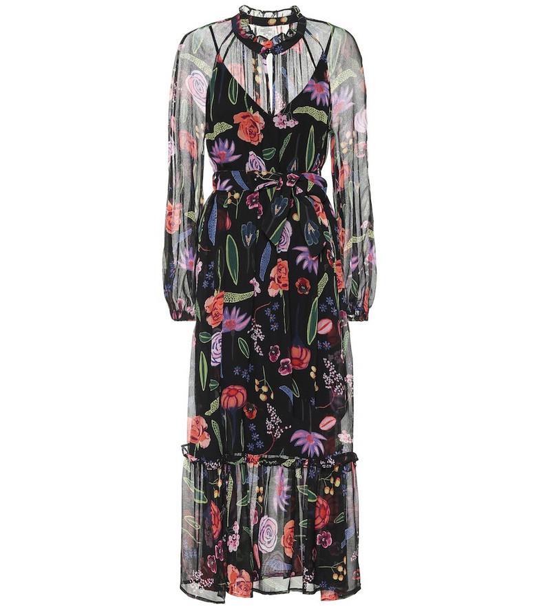 Baum und Pferdgarten Antoinette floral chiffon maxi dress
