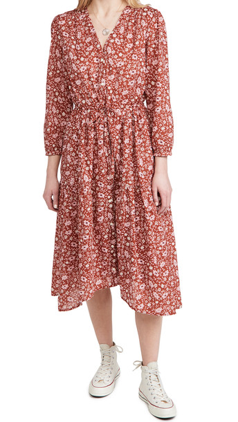 Birds of Paradis Ainsley Dress in rose