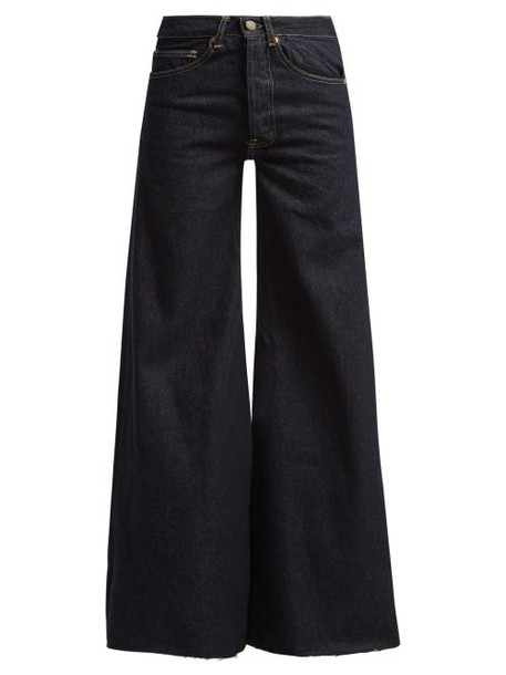 Raey - Loon Wide Leg Jeans - Womens - Indigo