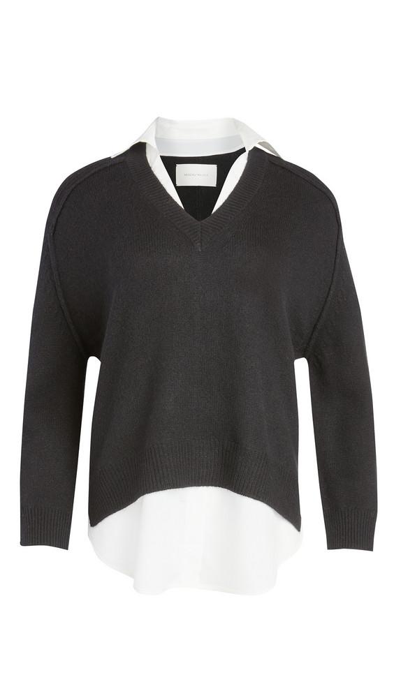 Brochu Walker V Looker Sweater in black