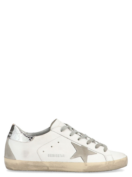 Golden Goose super Star Shoes in white