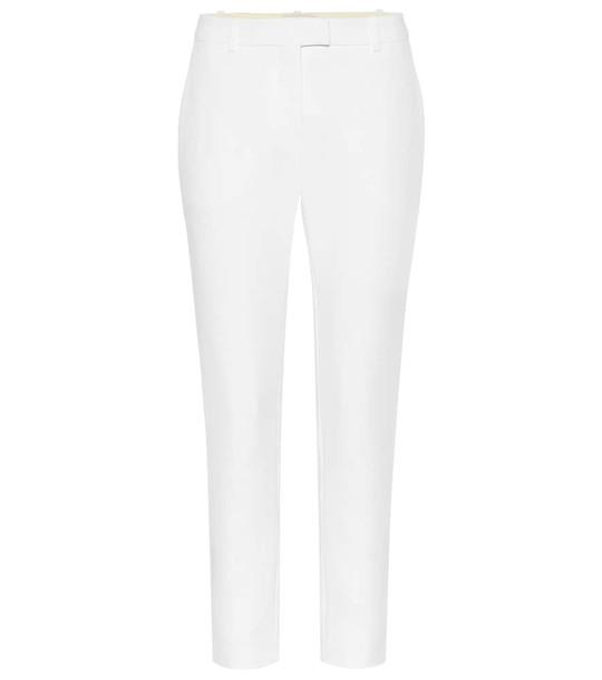 Altuzarra Henri high-rise pants in white