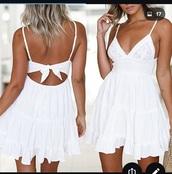dress,white