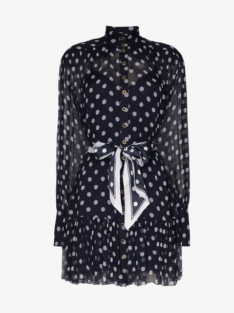 Zimmermann Polka dot print flared dress