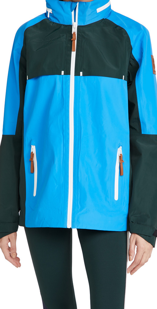 Tory Sport Colorblock Performance Jacket in blue