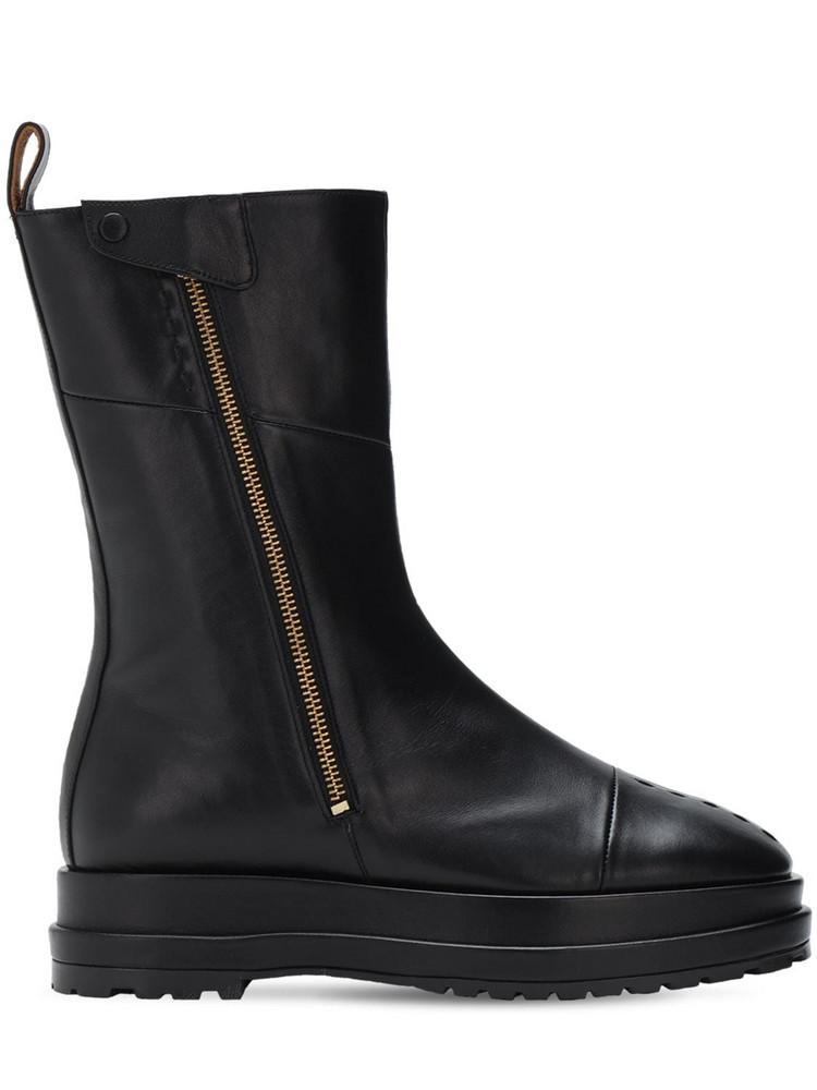 REIKE NEN 40mm Platform Ankle Boots in black