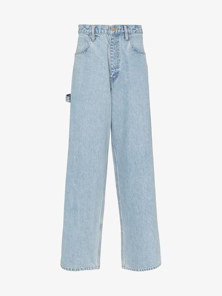 FUTUR Carpenter loose denim jeans