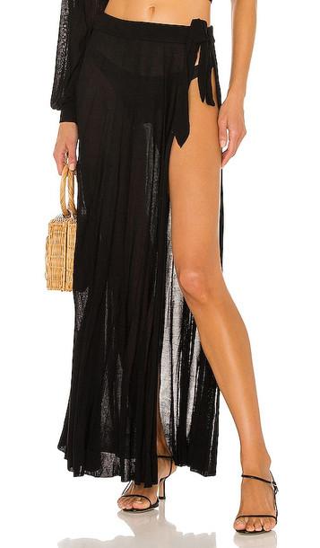DEVON WINDSOR Logan Skirt in Black