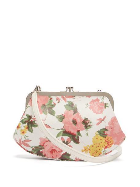 Vetements - Granny Medium Leather Bag - Womens - Pink White