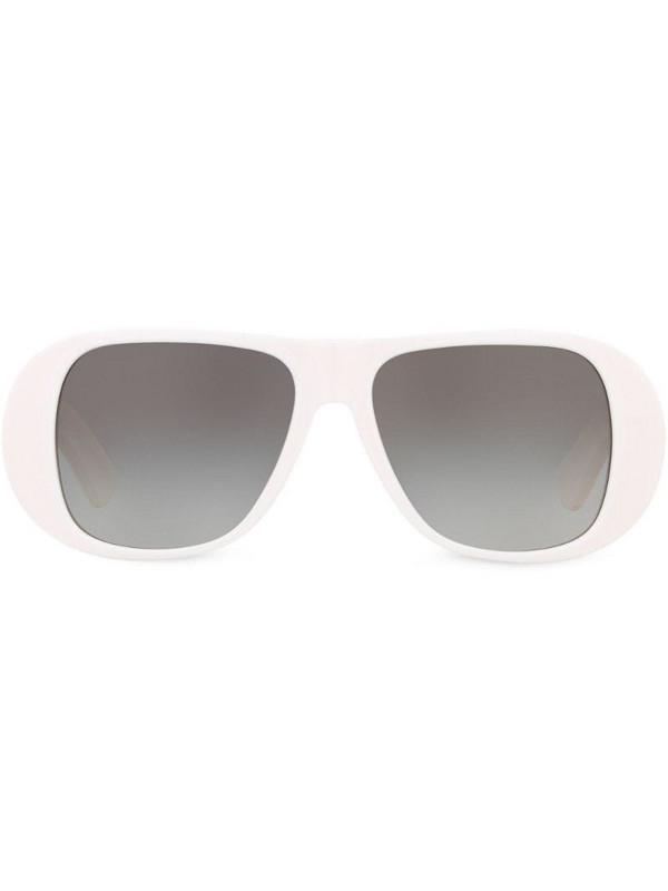 Sunglasses Hut X Alexa Chung oversized sunglasses in grey