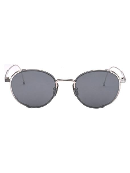 Thom Browne Sunglasses in grey / silver