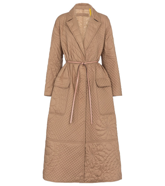 Moncler Genius 1 MONCLER JW ANDERSON quilted coat in beige