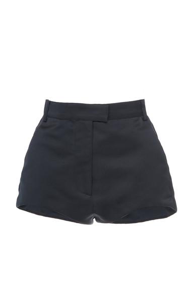 Philosophy di Lorenzo Serafini Mini Crepe Shorts in black