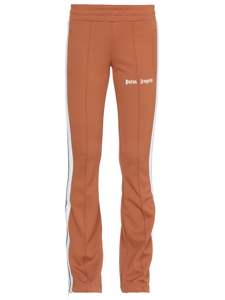Palm Angels Pants With Trousers in brown / white