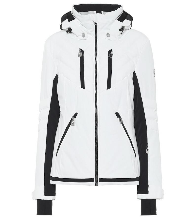 Toni Sailer Henni hooded ski jacket in white